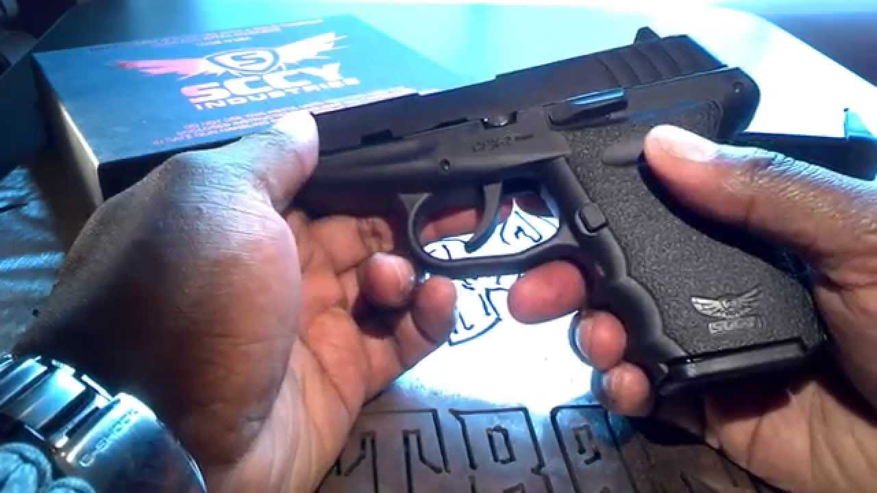 SCCY CPX2 9mm Pistol Takedown and Reassembly 9mm Compact