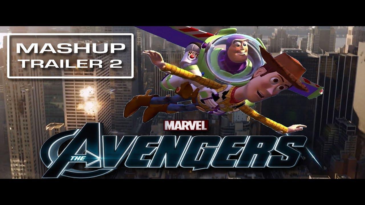 The Avengers   Toy Story - [Mashup] Trailer 2