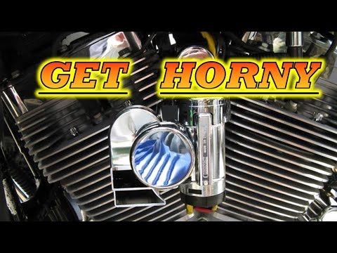 How To Install Bad Boy Wolo Horn On A Harley Davidsion