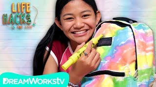 Highlighter Tie Dye Backpack | LIFE HACKS FOR KIDS