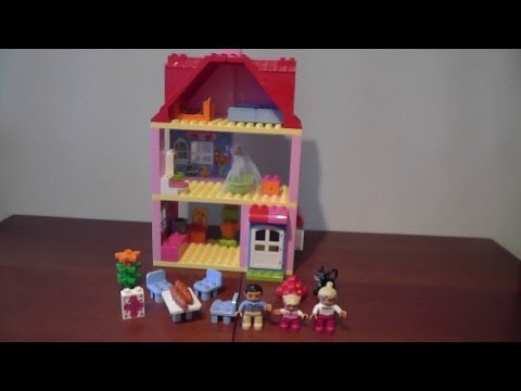 unboxing LEGO DUPLO 10505 DOMEK DO ZABAWY rozpakowanie