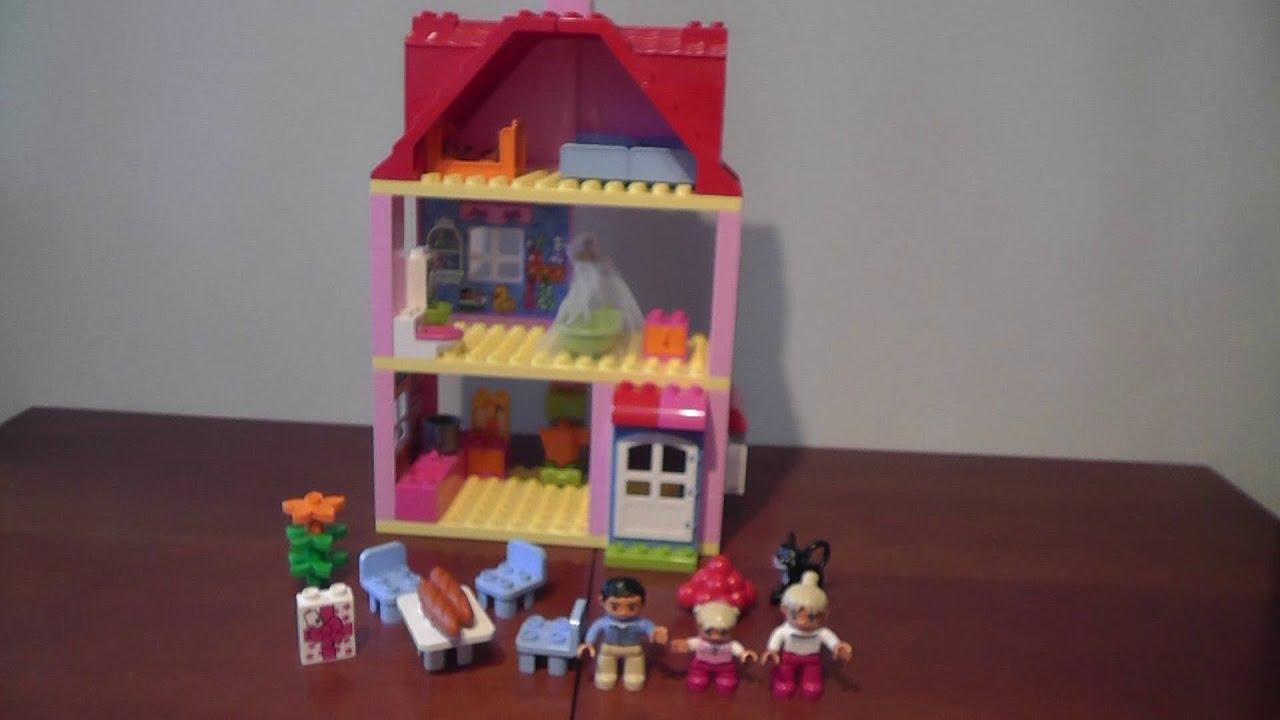 Unboxing Lego Duplo 10505 Domek Do Zabawy Rozpakowanie Youtube
