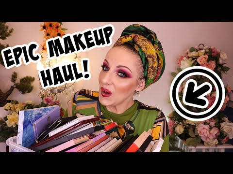 My Monthly Collected Makeup Haul | January Edition | By Leorah MUA
