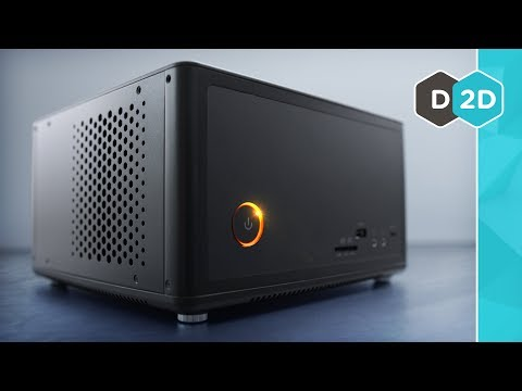 The Mini PC With A REAL GTX 1080!