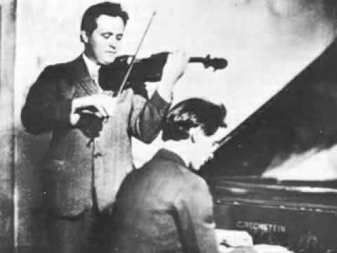 Adolf Busch and Rudolf Serkin - Brahms Sonata in G, 2nd mov