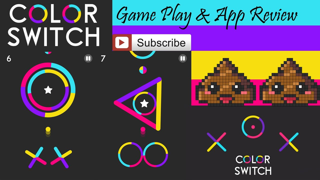 Color Switch - Game Play & App Review (By Fortafy Games / Samuel ...