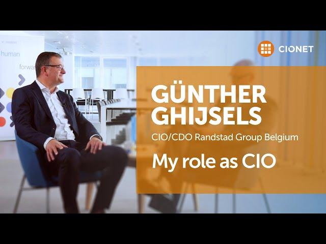 Günther Ghijsels, CIO/CDO Randstad Belgium – IT for the sake of IT