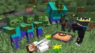 Нашел Секретный Люк [ЧАСТЬ 1] Зомби Апокалипсис в Майнкрафт - (Minecraft - Сериал Про Зомби)