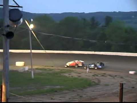 Cody Campbell rookie sportsman race 5/21/10 Glen Ridge Motorsports Park