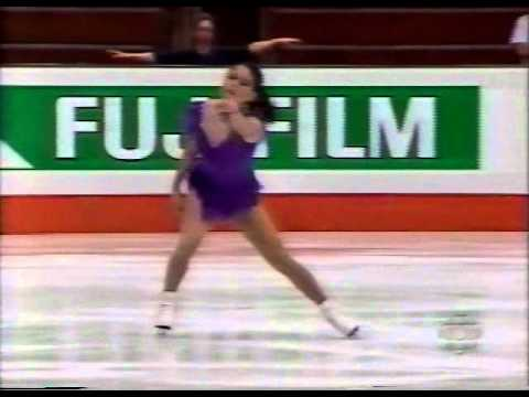 Jamie Salé (CAN) - 1995 World Juniors, Ladies