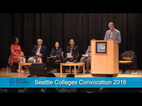 Seattle Colleges Convocation 2016