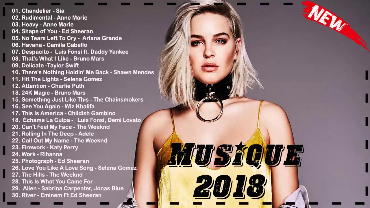 musique 2018 nouveaut le meilleur playlist 2018 novembre compilation musique mix youtube. Black Bedroom Furniture Sets. Home Design Ideas