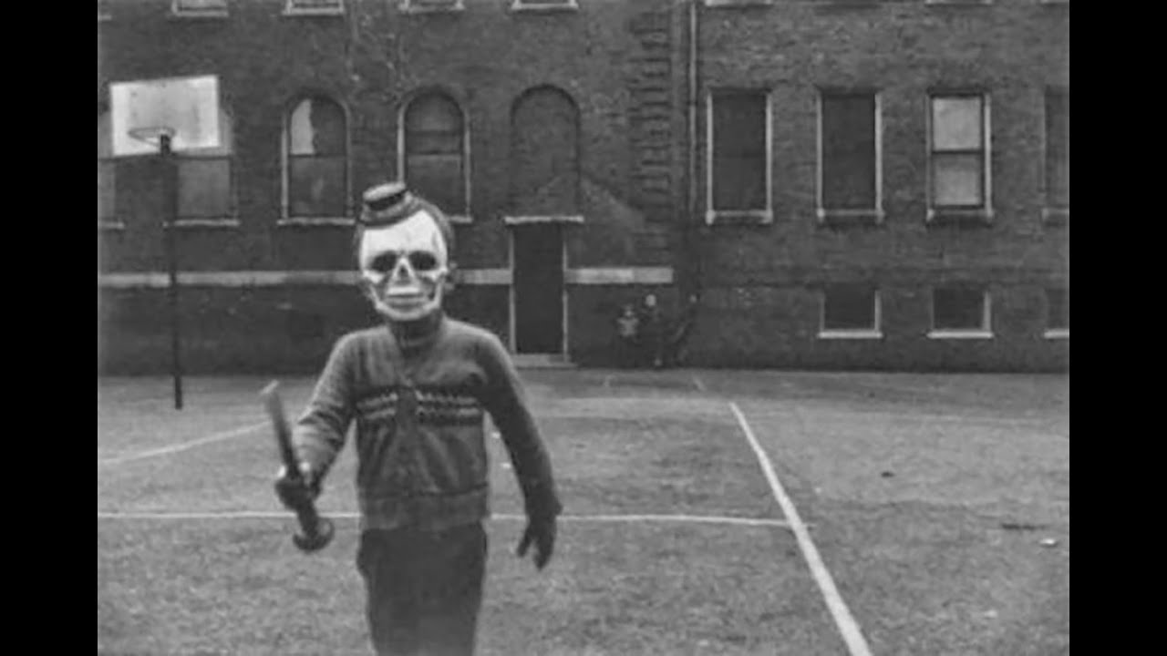 Deeply Terrifying Halloween Photos From The Early S  Youtube