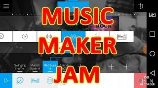 music maker Jam :обзор на приложение