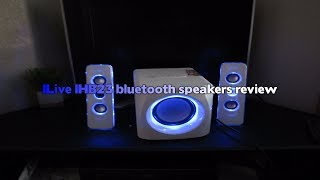 iLive iHB23 Bluetooth speakers review!