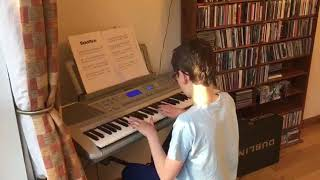 "Dominic performing ""Für Elise"""