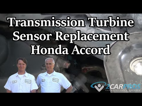 Transmission Turbine Sensor Replacement Honda Accord 1997-2002
