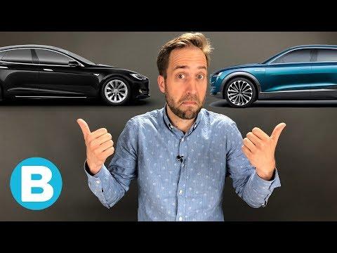 Audi wil Tesla 'wegvagen' met de E-tron - gaat dat lukken?