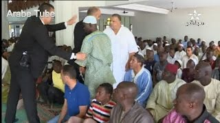 سلوكيات مصلي تثير حراس الملك في صلاة الجمعة بأبيدجان