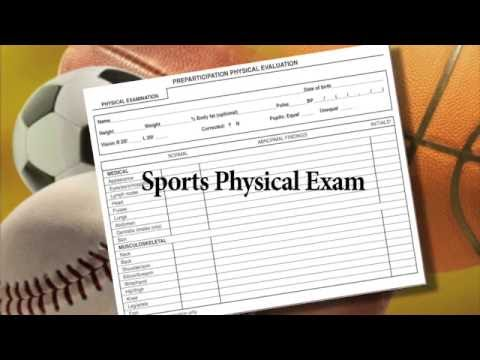 Sports physicals too involved for instant clinic visit