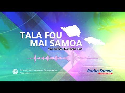 Download Radio Samoa - News from Samoa (02 AUG 2021)