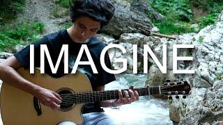 Imagine - John Lennon (Fingerstyle Guitar Cover by Albert Gyorfi) [+TABS]