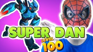 Monster Legends: Super Dan level 1 to 100 - Combat PVP