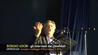 SCELGO LOCRI gli interventi dei Candidati (by EL)