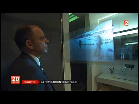 Reportage Journal France 2 - Showroom de Connecting Technology du 24/03/2014