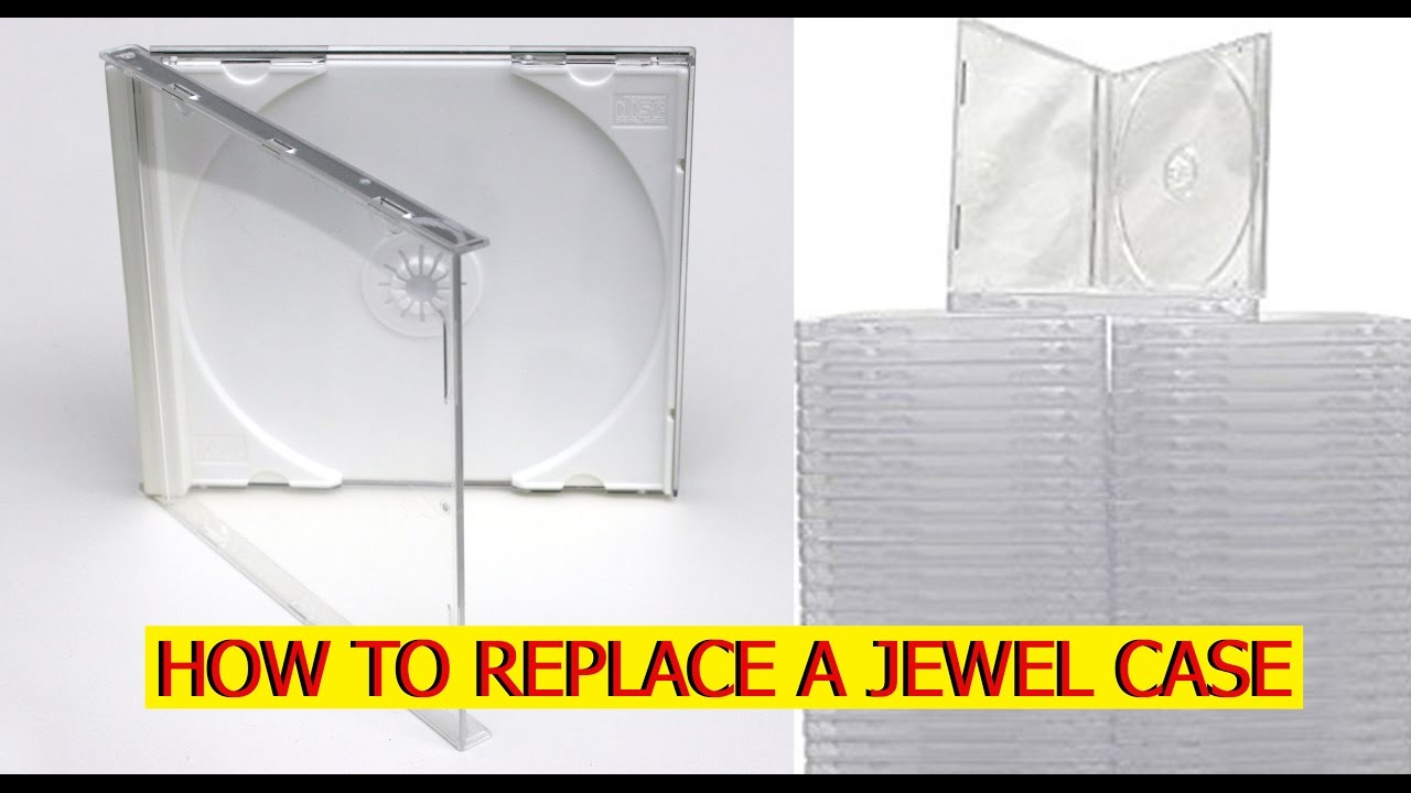 how to replace a cd jewel case youtube
