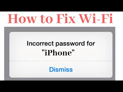 WiFi Password Incorrect Issue Resolved On IOS ! Unable To Join Message When Connecting To WiFi.
