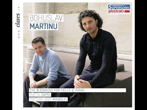 Duo Zappa / Mainolfi - Bohuslav Martinu (1890-1959): Cello Sonata No. 2, H. 286