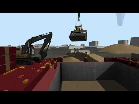Ship Pedestal Crane Simulator