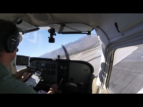 San Diego to Palm Springs Cessna 172 and Miramar Transition North