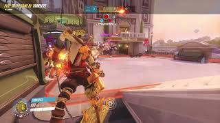 Junkrat Rialto Quadruple Kills  Potg Overwatch