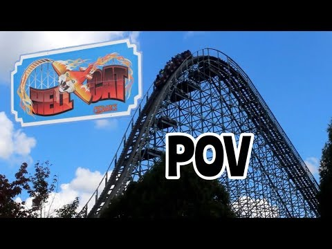 Hell Cat On and Off Ride POV - Clementon Park - NJ