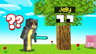 Hiding As A TREE In MINECRAFT HIDE AND SEEK!