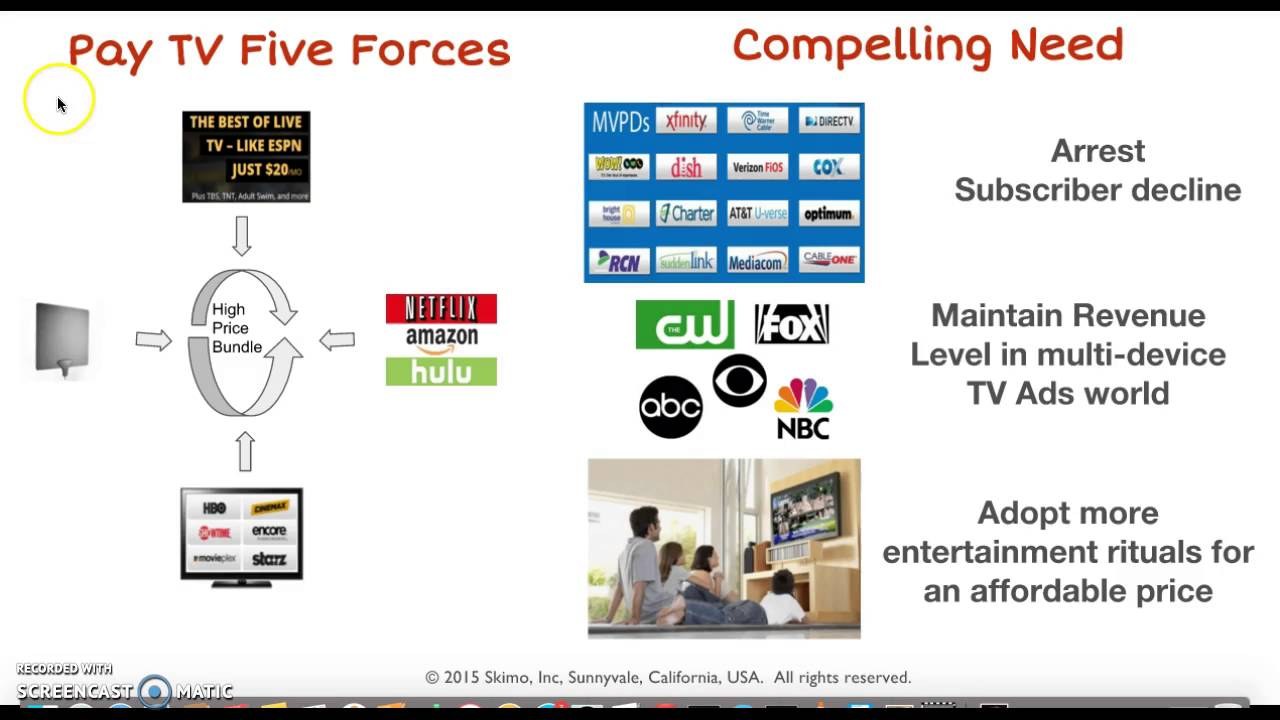 movie rental industry porters five forces