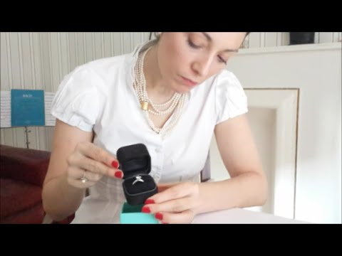Tiffany & Co. 1.14ct Diamond Engagement Ring Unboxing