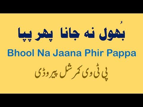 Urdu Funny Poetry – Panama Leaks Funny Commercial / Parody