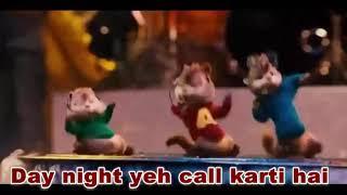 Ding Dang Video Song - Chipmunks Version | With Lyrics | Munna Michael