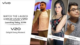 #vivoV20 | Watch the launch and win 20 vivo V20