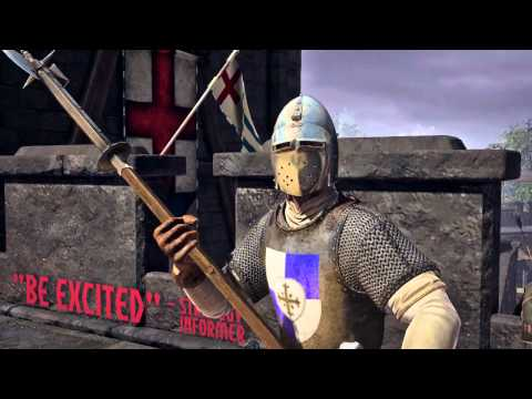 War of the Roses: Death Before Dishonor Official HD E3 2012 game trailer - PC