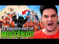 ENTREI NA PIRÂMIDE DO MISTÉRIO SOMBRIO! MINECRAFT #107