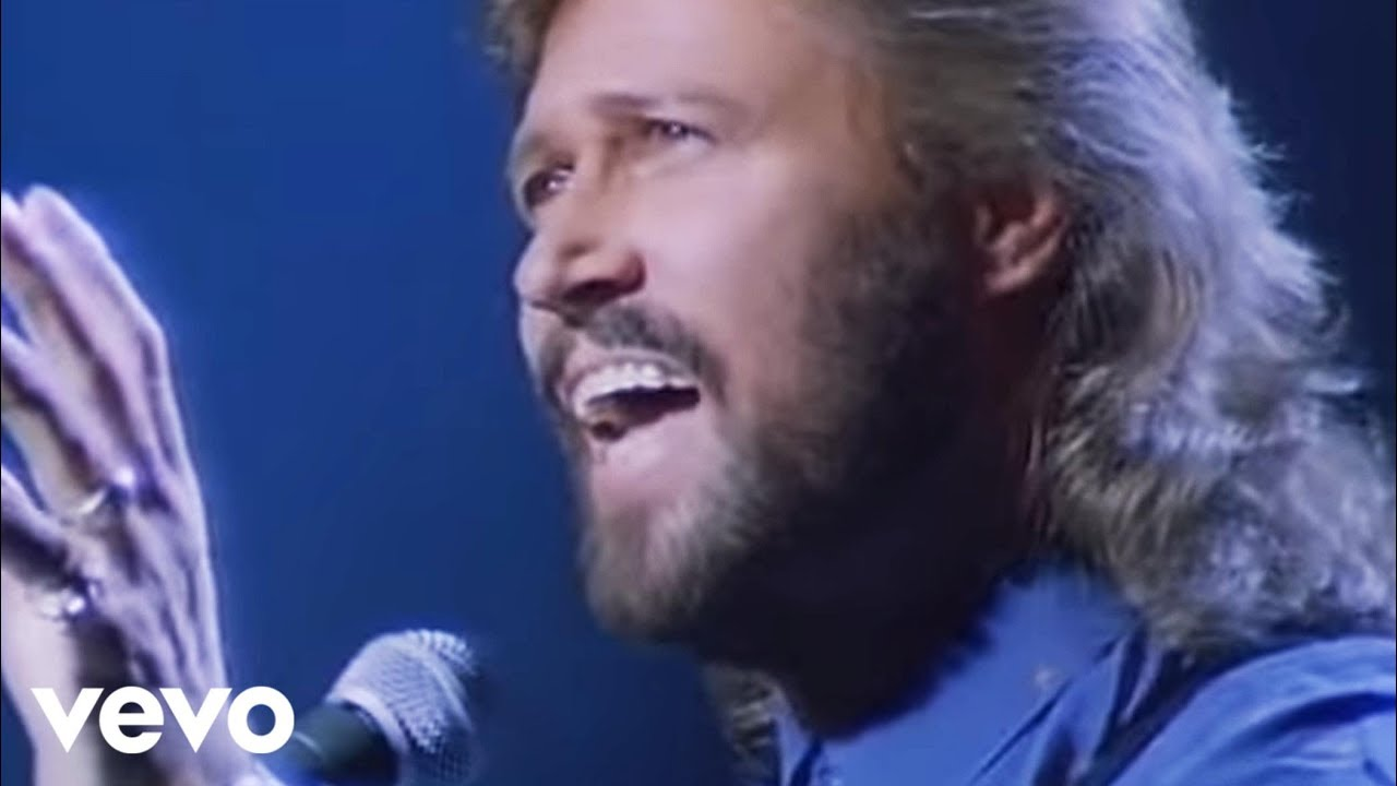 Bee Gees One Official Video Youtube