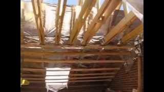 видео Как защитить мансарды от перегрева в летнее время?