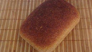 Домашний хлеб с гречневой мукой грубого помола.