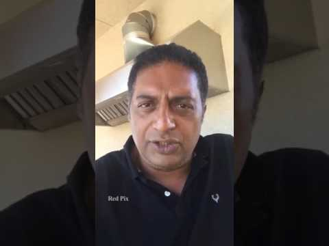Cauveri Issue - Actor Prakash Raj Appeal Karnataka People to Stop Violence