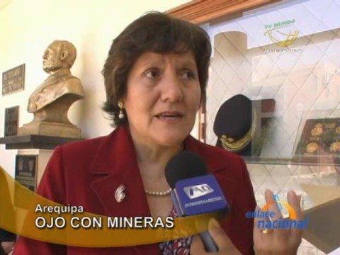 Mineras Serán Supervisadas Por Organismo Técnico, Informó Viceministra De Medio Ambiente En Arequipa