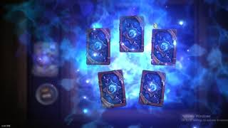 [Hearthstone] Witchwood pack opening. First 40 packs.
